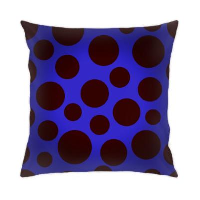 Подушка цветные пятна