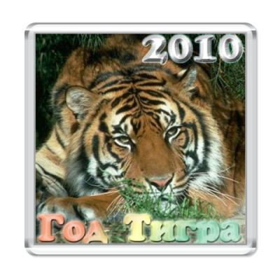 """Магнит  """"Год тигра 2010"""""""
