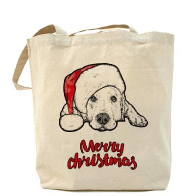 Сумка Собака Санта