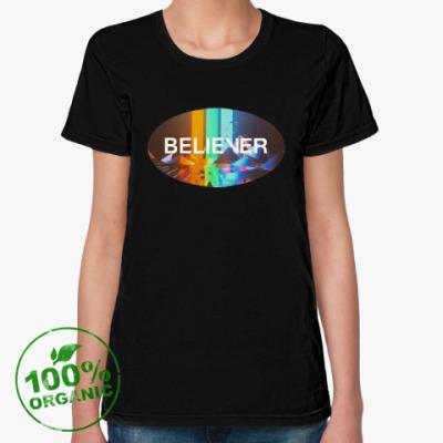 Женская футболка из органик-хлопка Imagine Dragons