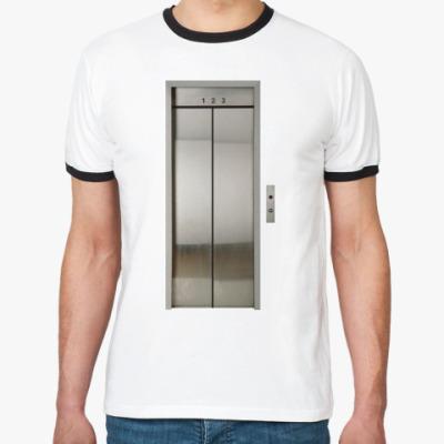 Футболка Ringer-T  ''Elevator''
