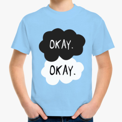 Детская футболка THE FAULT IN OUR STARS - OKAY