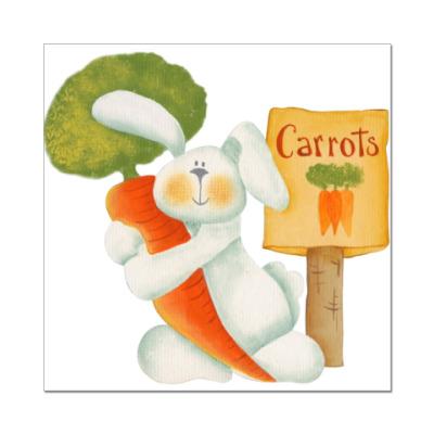 Наклейка (стикер) Carrots - туда!