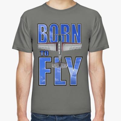 Футболка bORN TO FLY Yak-52