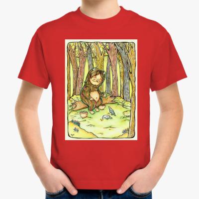 Детская футболка Лесной тролль