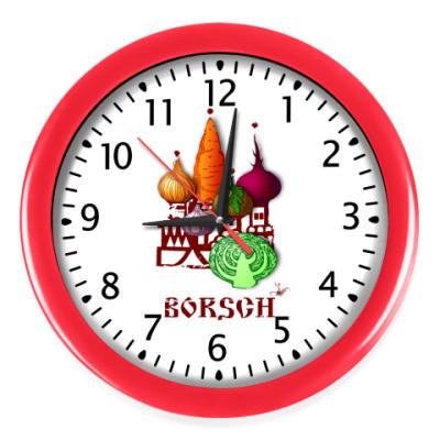 Настенные часы 'Борщ'