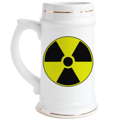 Пивная кружка Радиация