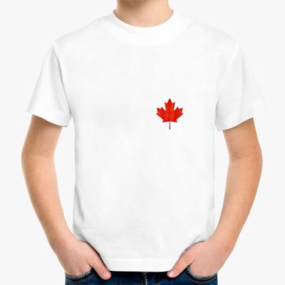 Детская футболка Канада