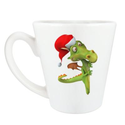 Чашка Латте Дракоша