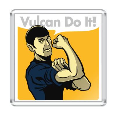 Магнит Vulcan do it!