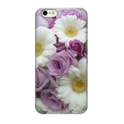Чехол для iPhone 6/6s Цветы