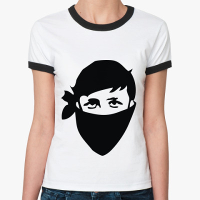Женская футболка Ringer-T Shake it
