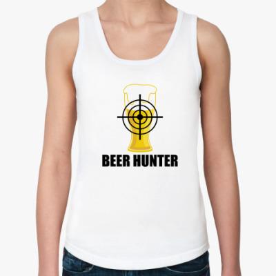 Женская майка Beer Hunter