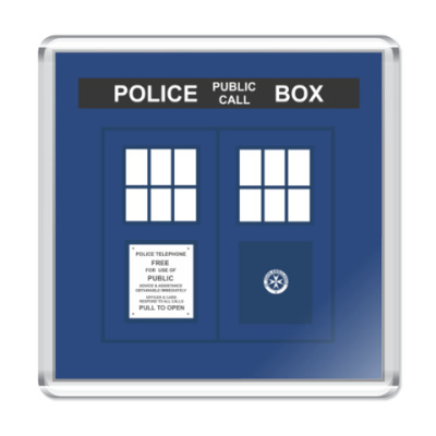 Магнит TARDIS