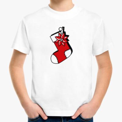 Детская футболка Чулок для подарков