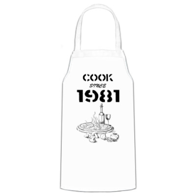 Фартук Сook Since 1981