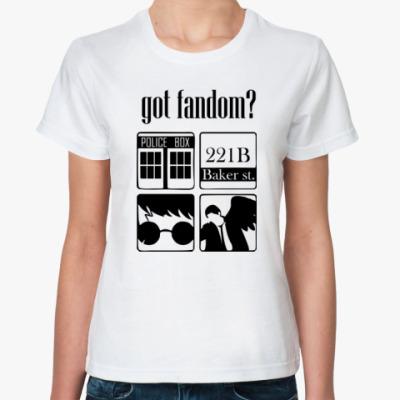 Классическая футболка Doctor Who,Шерлок,Суперы