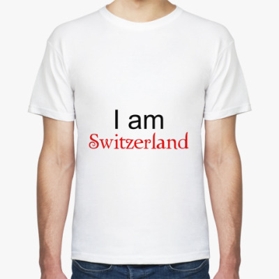 Футболка I am Switzerland