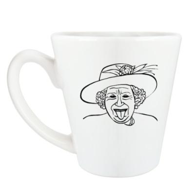 Чашка Латте Милая Англия
