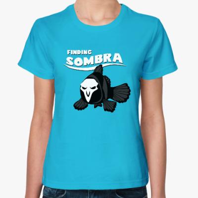 Женская футболка Сомбра Overwatch