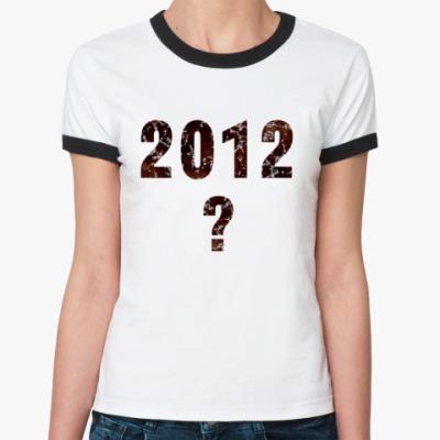 Женская футболка Ringer-T 2012