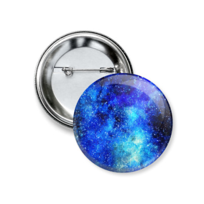 Значок 37мм Космос