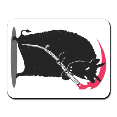 Коврик для мыши Мрачный убийца