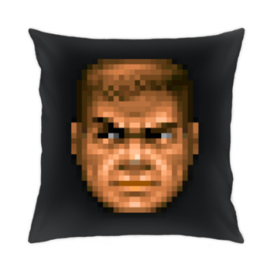 Подушка Чувак из Doom II 100%