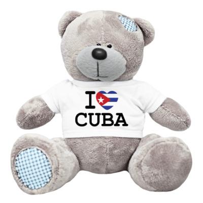 Плюшевый мишка Тедди I Love Cuba