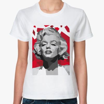 Классическая футболка Мэрилин Монро