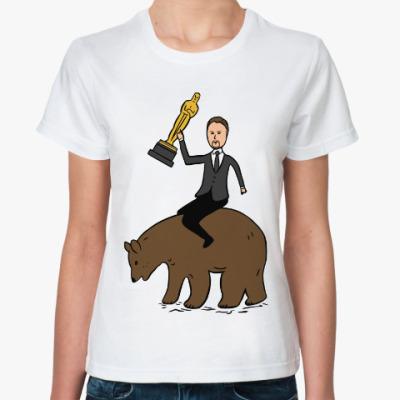 Классическая футболка Ди Каприо получил Оскара