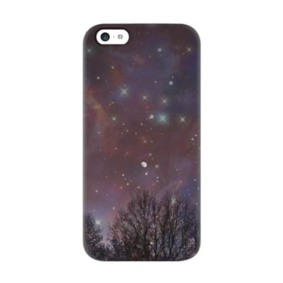 Чехол для iPhone 5c Ночное небо