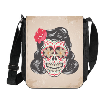 Сумка на плечо (мини-планшет) Skull Girl