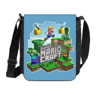 Сумка на плечо (мини-планшет) Super Mario Craft