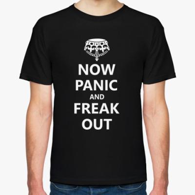 Футболка  Now Panic.