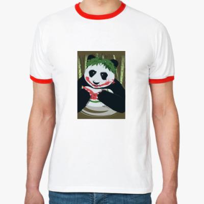 Футболка Ringer-T Панда Joker