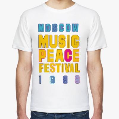 Футболка MoscowMUSICPEACE Fest