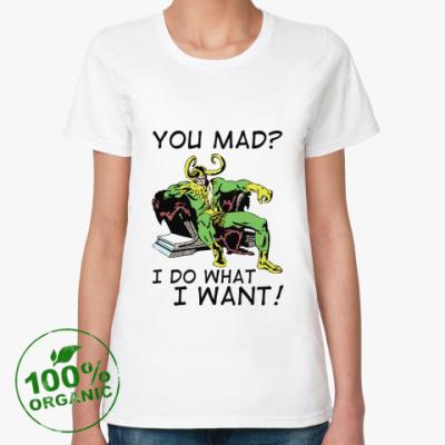 Женская футболка из органик-хлопка 'Loki'