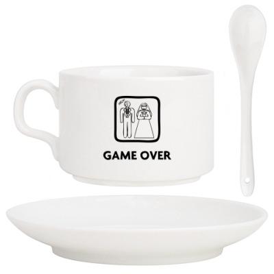 Кофейный набор Game Over. HELP