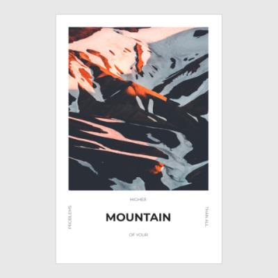 Постер Горы