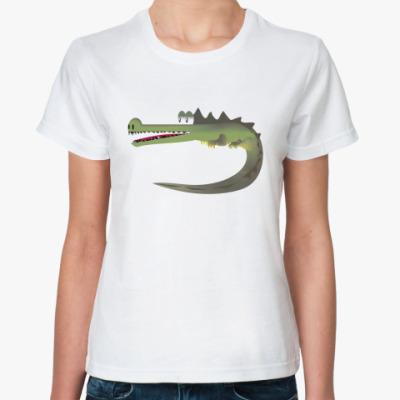 Классическая футболка Крокодильчик :)