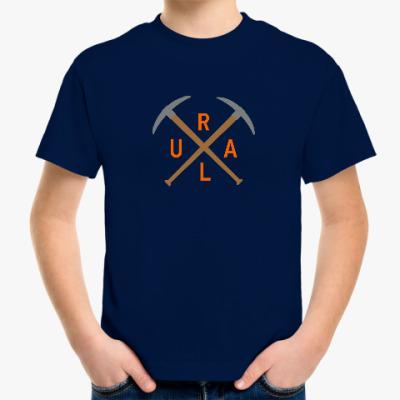 Детская футболка URAL