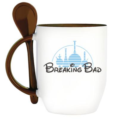 Кружка с ложкой Breaking Bad Chemistry