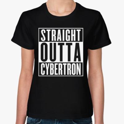 Женская футболка Кибертрон