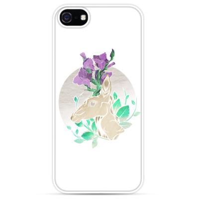Чехол для iPhone Winter Gladiolus Deer/ Зимний