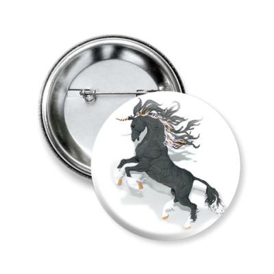 Значок 50мм Фантастический конь