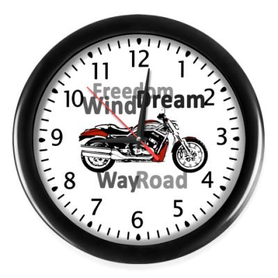 Настенные часы Motorbike