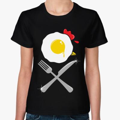 Женская футболка Яишенка