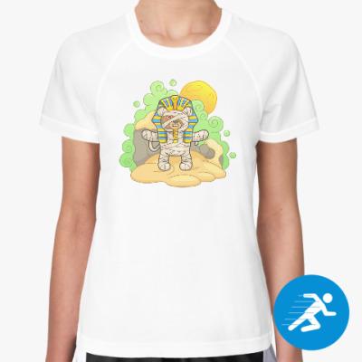 Женская спортивная футболка Плюшевый Фараон