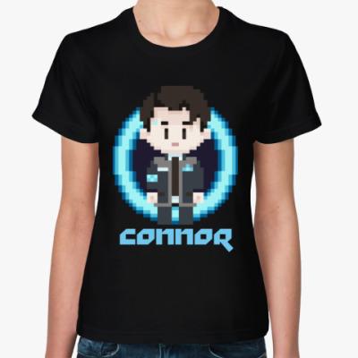 Женская футболка Connor Detroit